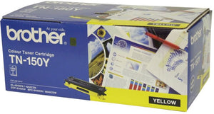 Brother TN Toner Cartridge, Yellow, 1,500 pages (TN-150Y)