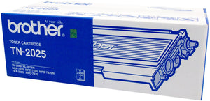 Brother TN Toner Cartridge, Black, 2,500 pages (TN-2025)