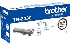 Brother TN Toner Cartridge, Black, 1,200 pages (TN-2430)