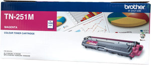 Brother TN Toner Cartridge, Magenta, 1,400 pages (TN-251M)