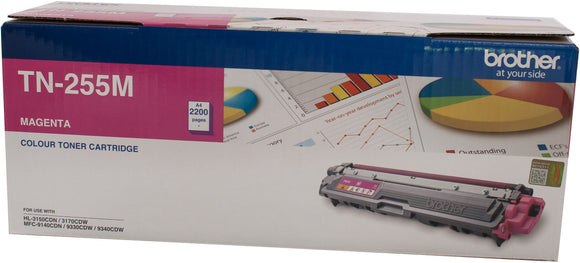 Brother Toner TN255 Magenta 2200 Pages