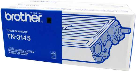 Brother TN Toner Cartridge, Black, 3,500 pages (TN-3145)