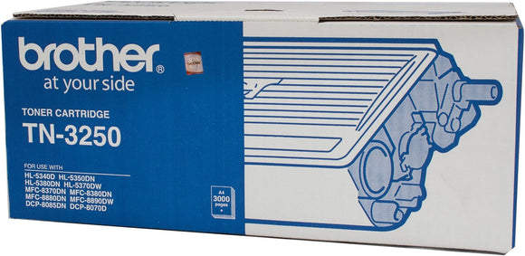 Brother TN Toner Cartridge, Black, 3,000 pages (TN-3250)