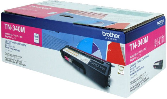 Brother Toner TN340 Magenta 1.5k