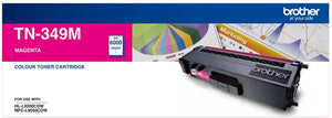 Brother TN Toner Cartridge, Magenta, 6,000 pages (TN-349M)