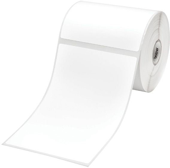 Brother RD Label Roll 102mm x 152mm, Thermal, 278 Labels/Roll, 3 Pack (RD-S02C1)