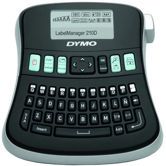 Dymo LabelManager 210D Label Maker (LM210D / SD84480)