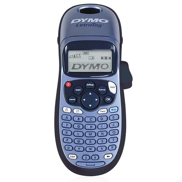 Dymo LetraTag Plus 100H Blue Label Maker (SD911100)