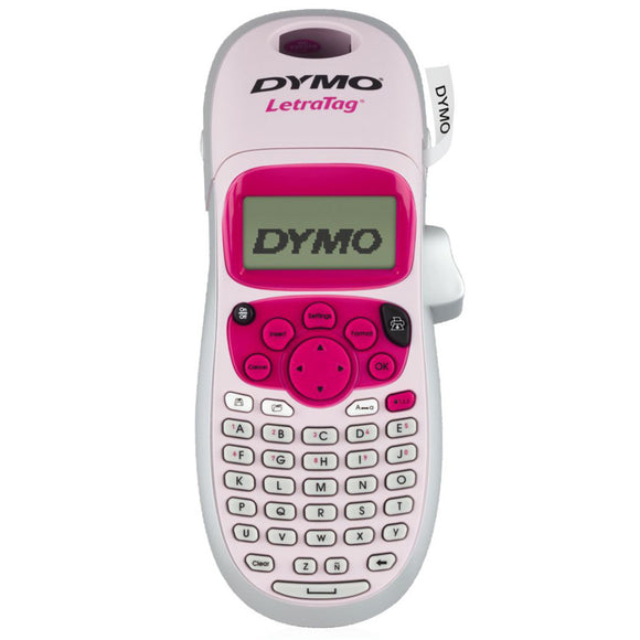 Dymo LetraTag Plus 100H Pink Label Maker (SD911110)