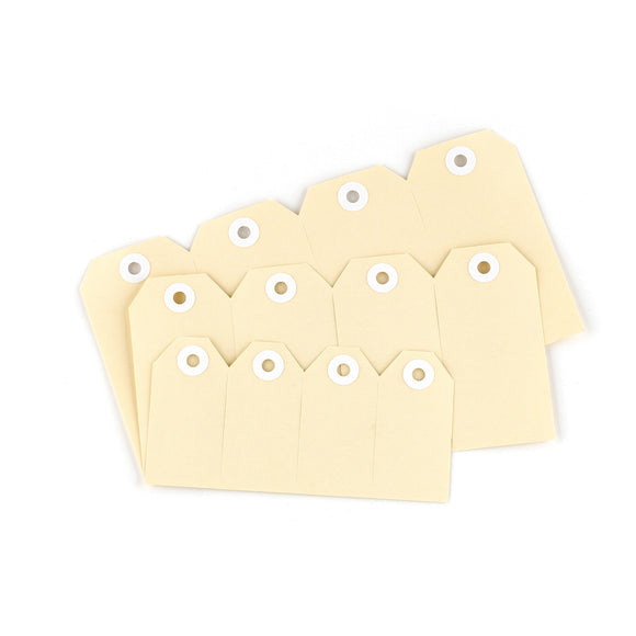 Avery Shipping Tags Size 2 82 x 41 mm Buff 1000 Pack (12000)