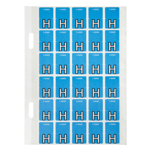 Avery Top Tab Colour Code Labels H 20 x 30 mm Blue 150 Pack (44408)