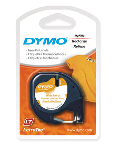 Dymo LetraTag Iron on Cloth Label Tape (SD18771)