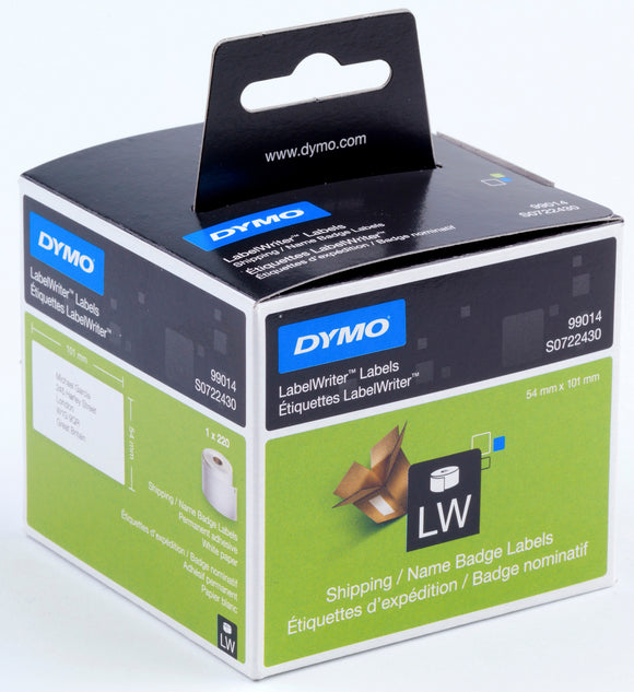 Dymo LabelWriter Shipping Labels 54 x 101 White (SD99014)