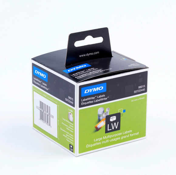 Dymo LabelWriter Large Multi-purpose 54mm x 70mm White Labels (SD99015) 320 Pack