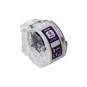 Brother CZ-1001 Full Colour Continuous Label Roll, 9mm wide