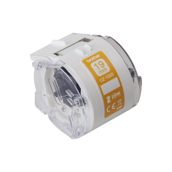Brother CZ-1003 Full Colour Continuous Label Roll, 19mm wide
