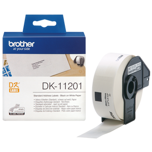 Brother DK11201 400 Address 29mm x 90mm Label Roll