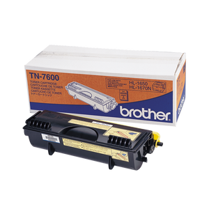 Brother TN Toner Cartridge, Black, 6,500 pages (TN-7600)