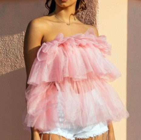 Princess tulle top