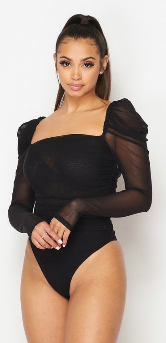 Mia the mesh bodysuit