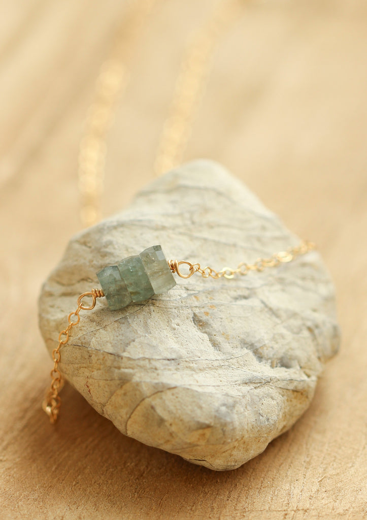 Trey Gemstone Necklace