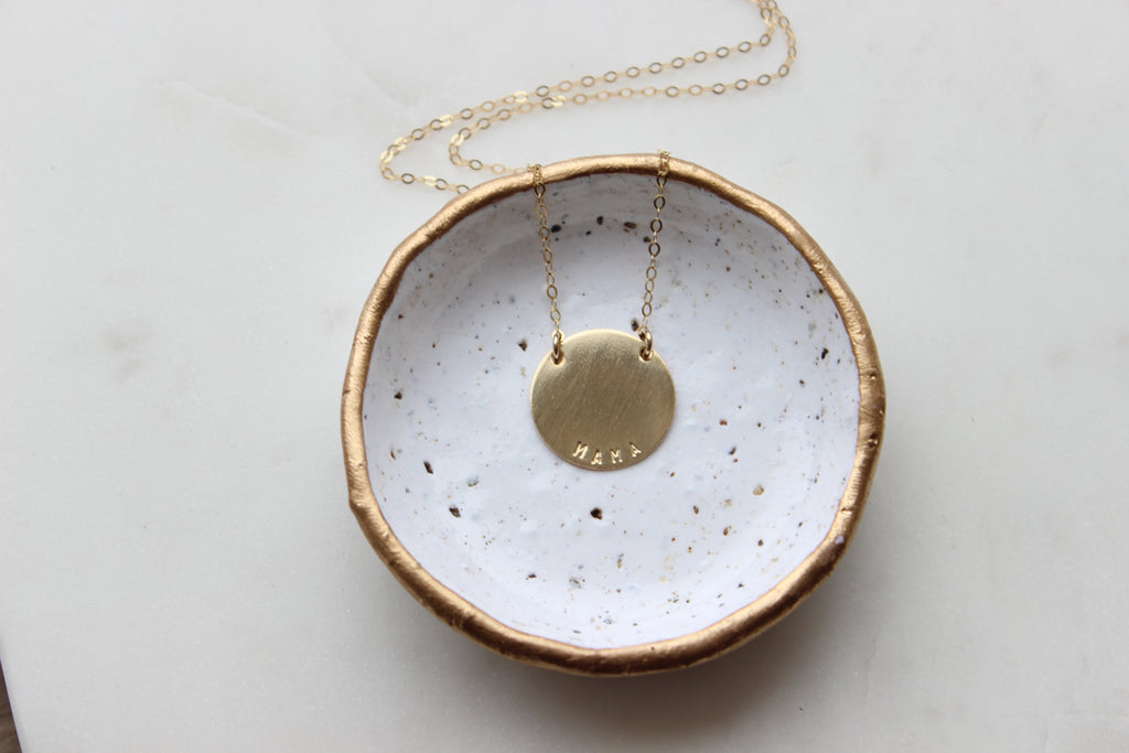Beholden Disc Necklace