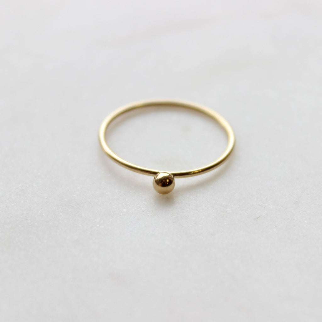 TINY Drop Ring