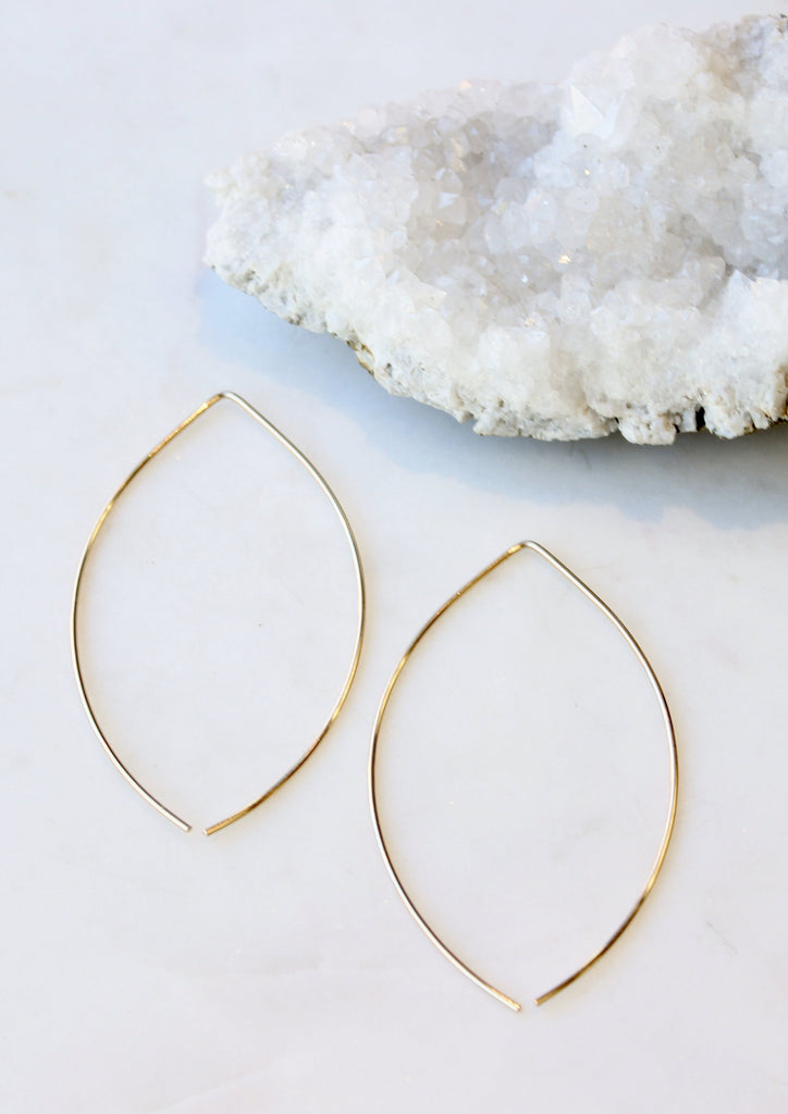 Lemon Drop Hoops