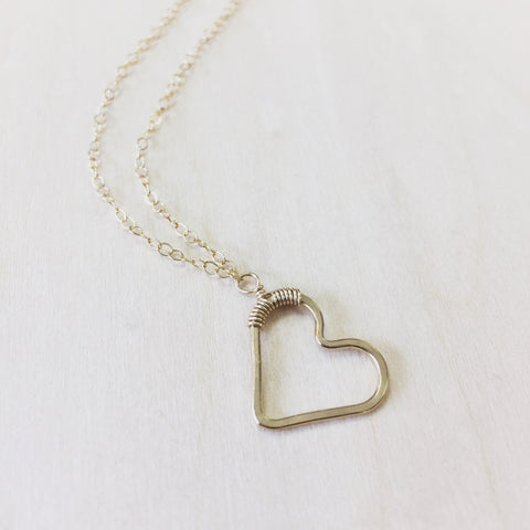 Sweetheart Necklace - Vertical