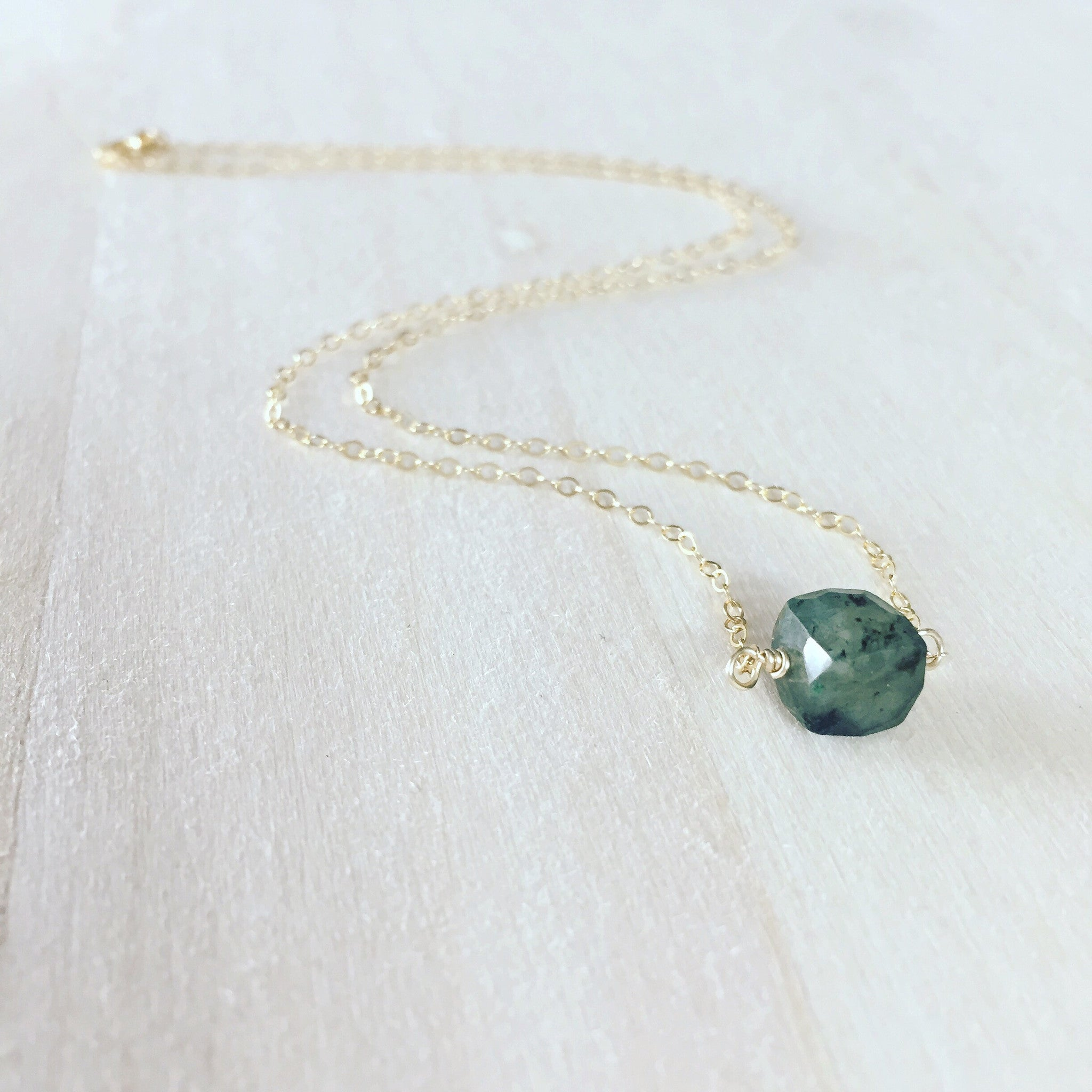 briolette tiny with aqua red aquamarine garnets and pin green pale necklace soft chalcedony teardrops