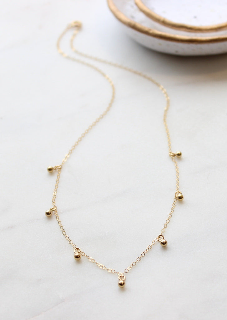 Ball Drop Necklace