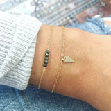 TINY Spike Dangle Bracelet