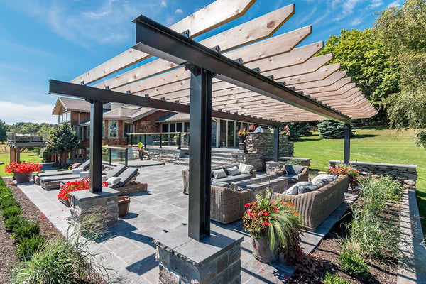 Black & Smith Ironworks - Steel Pergola