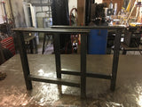 Black & Smith Ironworks - Steel H-Frame Table Legs (Industrial, Modern, Rustic, Metal)