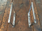 Black & Smith Ironworks - Steel Square Shelf Brackets (Industrial, Modern, Rustic, Metal)