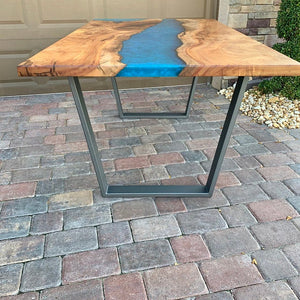 Trapezoid Metal Table Legs