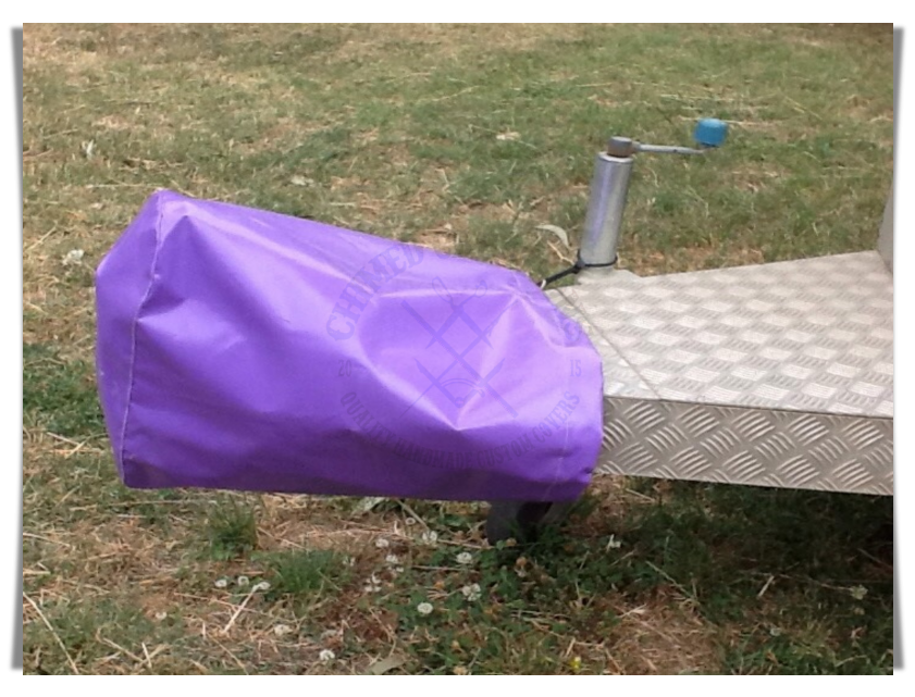 #1202 Popular Purple Colour of Trailer Coupling Covers