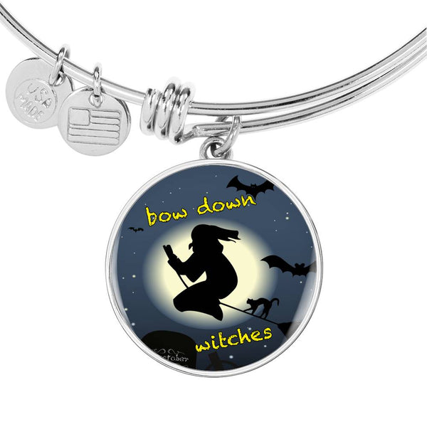 Limited Time Fall Bangle - Bow Down Witches