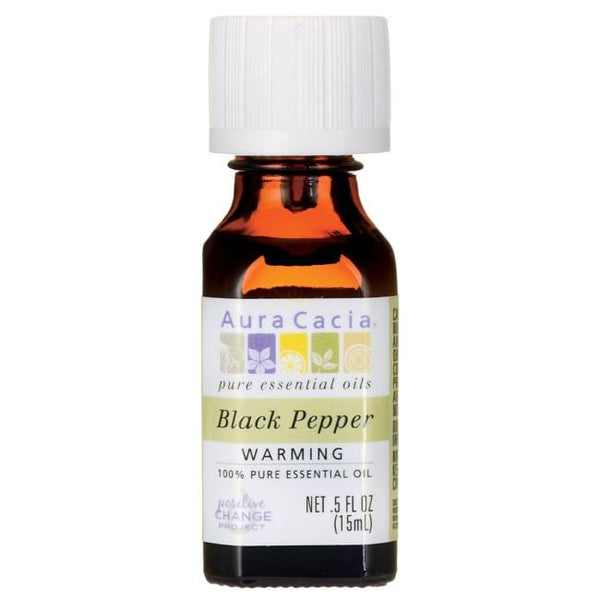 Black Pepper -Essential Oil 0.5 fl. oz.