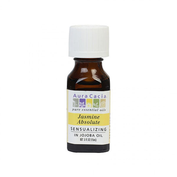 Jasmine Absolute (in jojoba oil) - 0.5 fl. oz.
