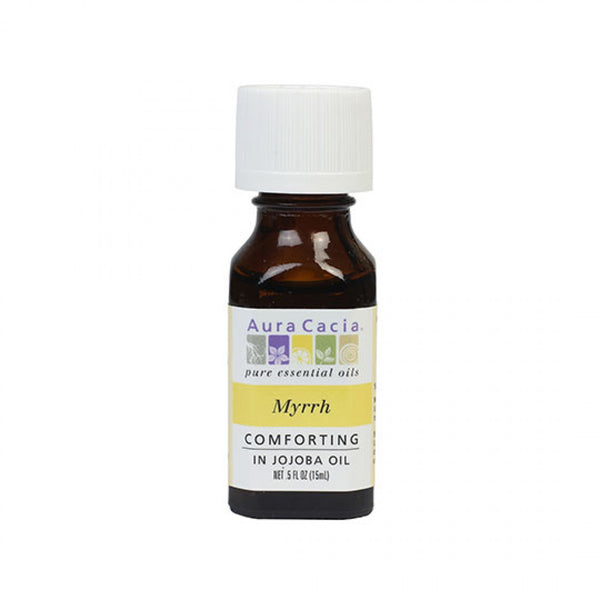 Myrrh (in jojoba oil) 0.5 fl. oz.