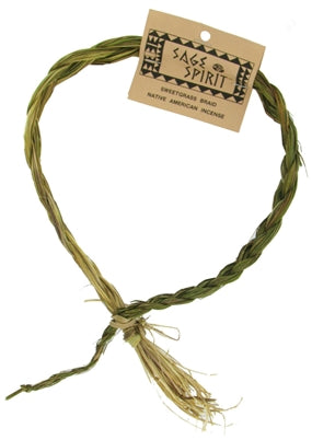 Sweetgrass Braid Smudge Wand