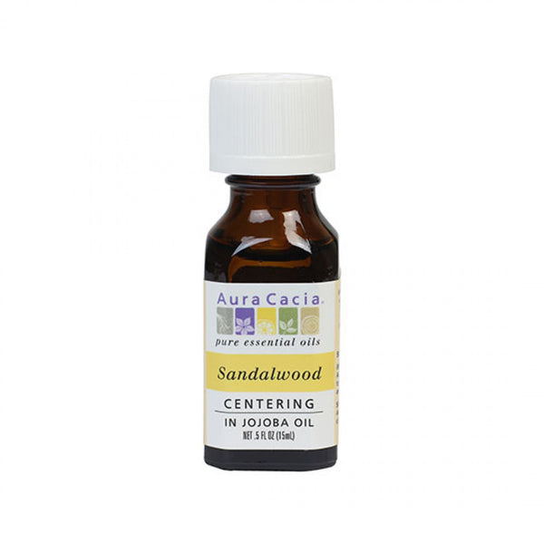 Sandalwood (in jojoba oil) 0.5 fl. oz.