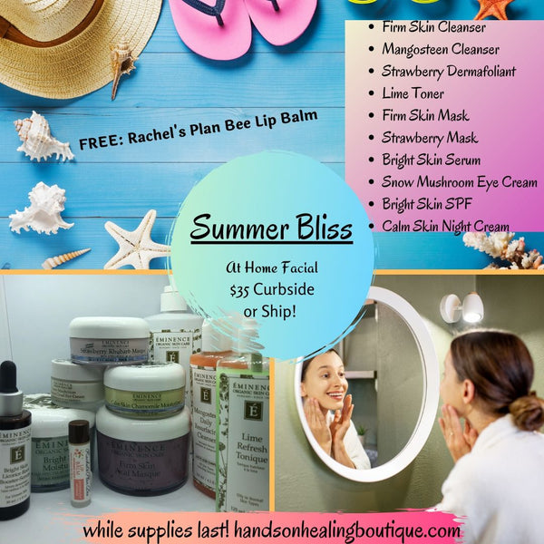 Summer Bliss: At Home Facial Kit