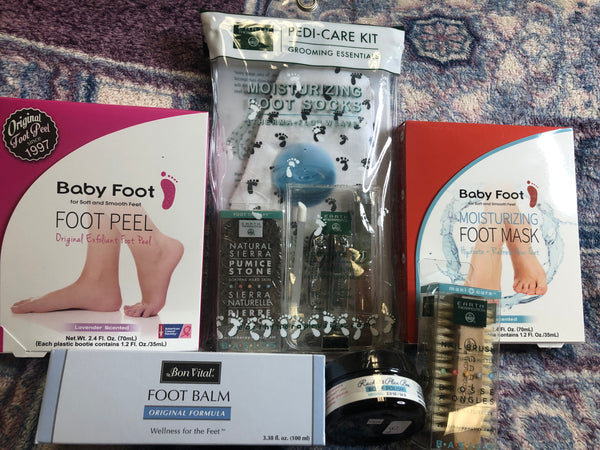 At Home Pedi Kit