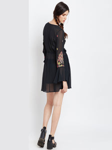 Forever Black Tunic Dress - MDSA72B