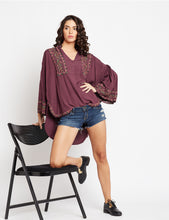 Load image into Gallery viewer, Gypsy Love Blouson Tunic MDAQ26