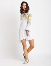 Load image into Gallery viewer, Easy Breezy Embroidered Tunic Dress MDAQ18W
