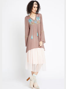Latte To Go Tunic MDAQ10L