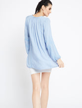 Load image into Gallery viewer, Classic Chic Top - MDAQ15Blue